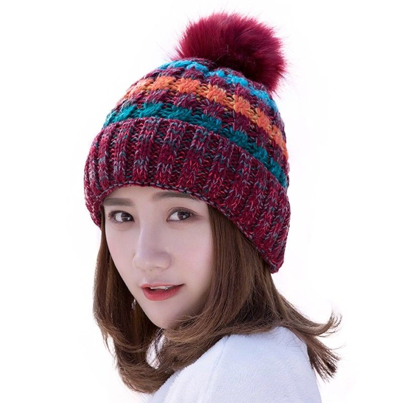 Winter knit hat for women birthday gift give Girlfriend  1b69eb101fea