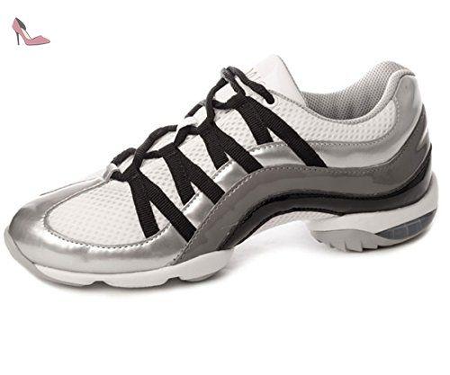 D'argent So523 Semelle us Gr 13 Bloch Bi Wave Danse Sneaker 43 7RfUdPYWq