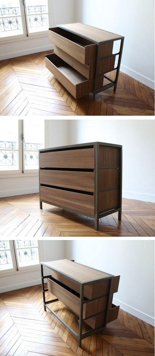 vaneau chest of drawers by alex de rouvray pinterest. Black Bedroom Furniture Sets. Home Design Ideas