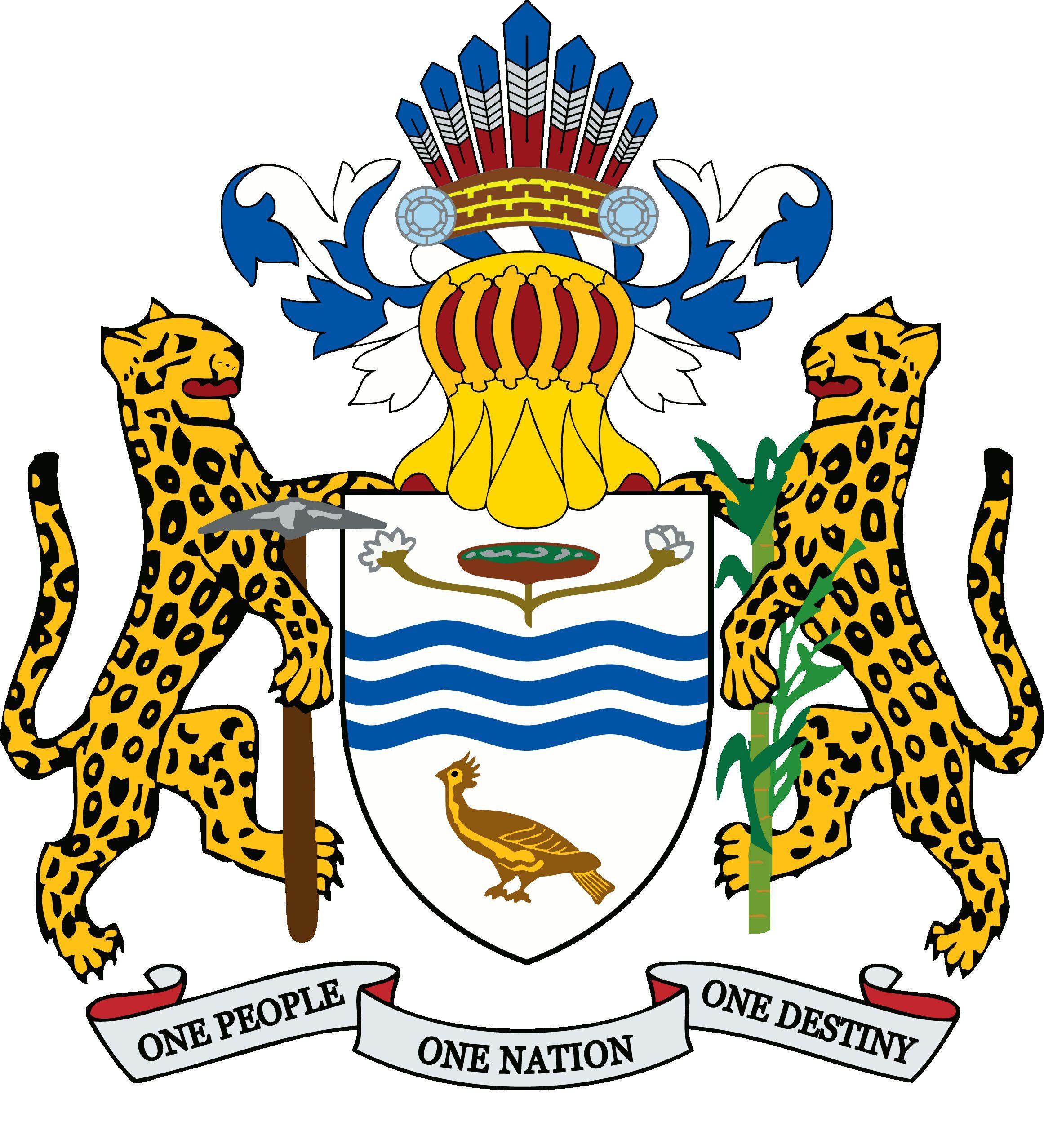 Guyana Coat Of Arms Coat Of Arms Guyana National Symbols