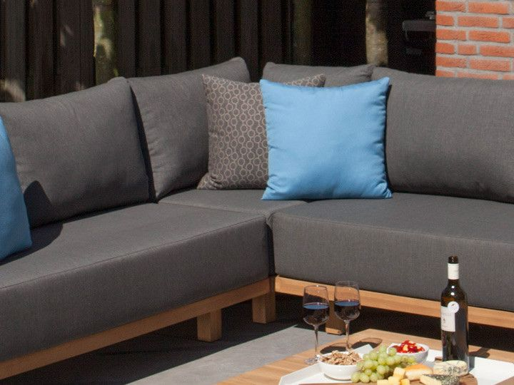 paradiso lounge modul ecke loungegruppe exotan teak. Black Bedroom Furniture Sets. Home Design Ideas