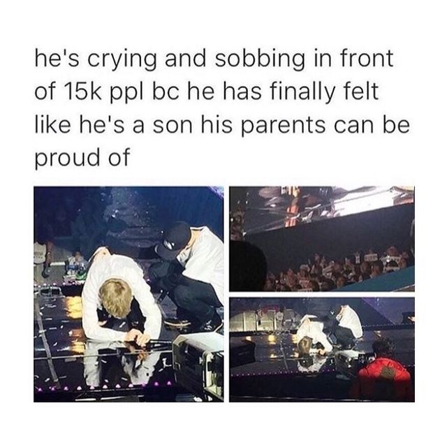 Photo of Awh please don't cry army and your parents are so proud love you??