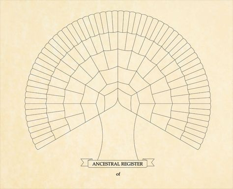 Download A Free Genealogy Family Tree Template Chart Genealogy