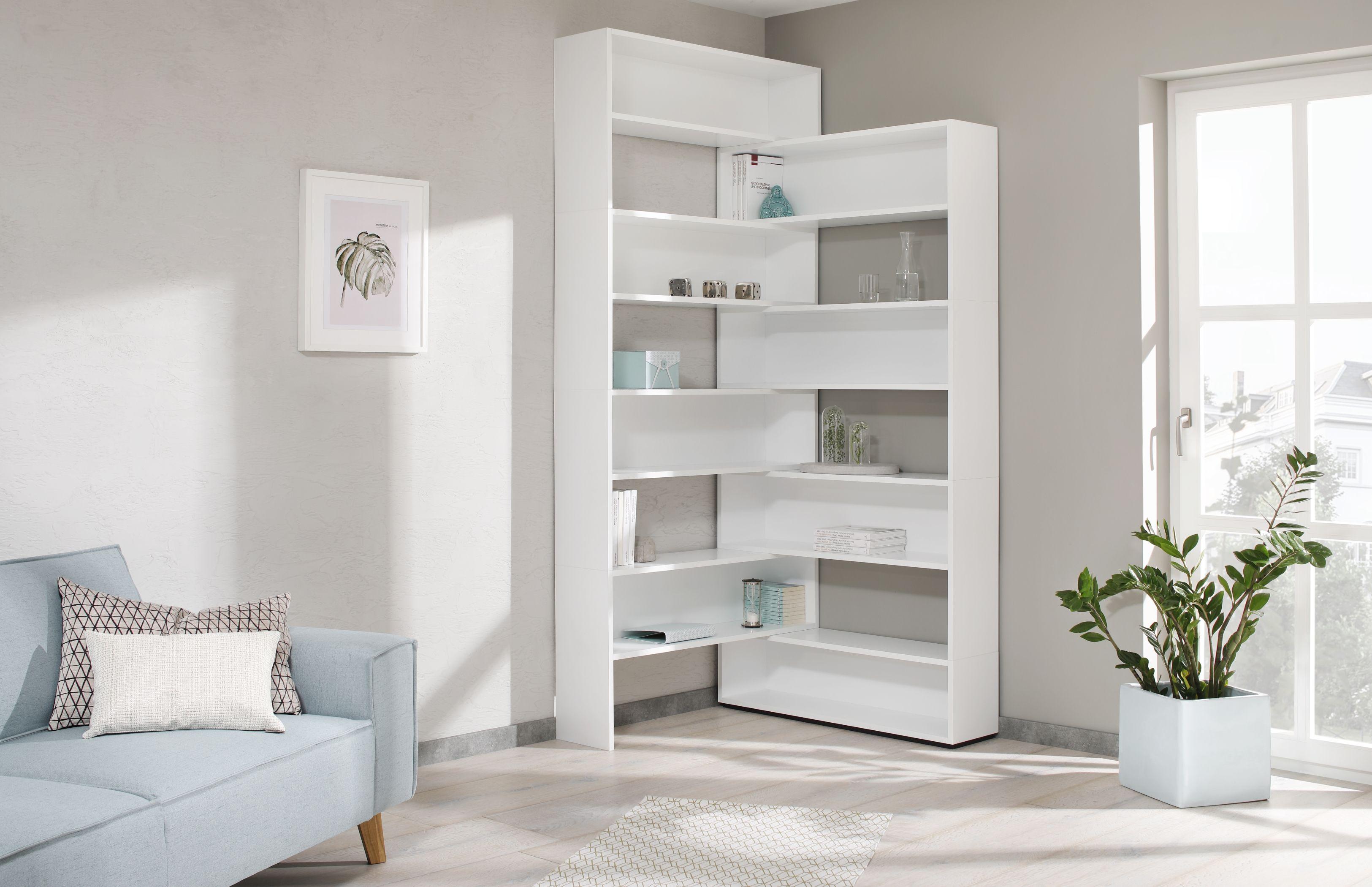shelves von Karrol Herman in 2020 Eckregal wohnzimmer