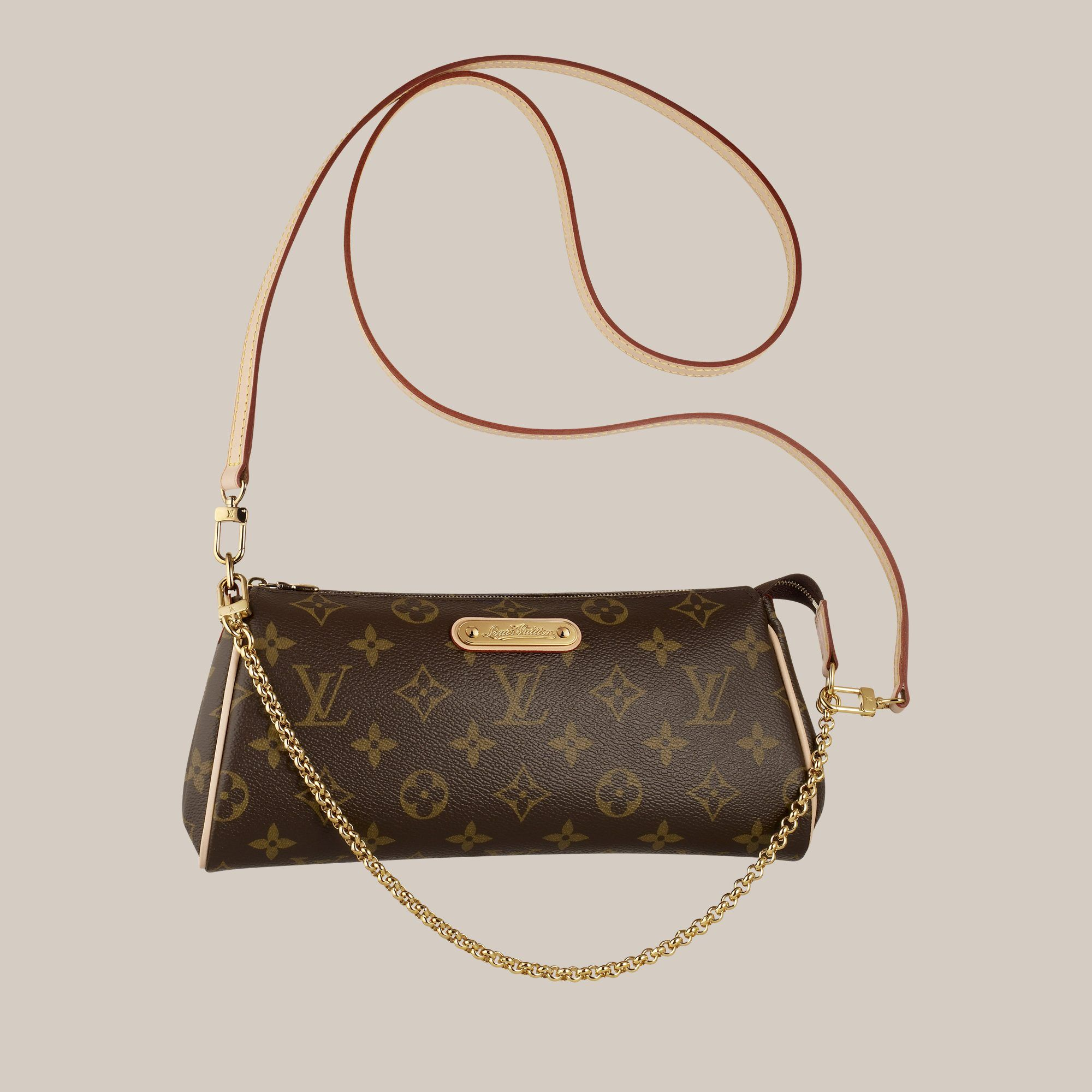 7156b73681b7 Louis Vuitton Pochette Eva - - Sacs-a-main   LOUIS VUITTON in 2019 ...