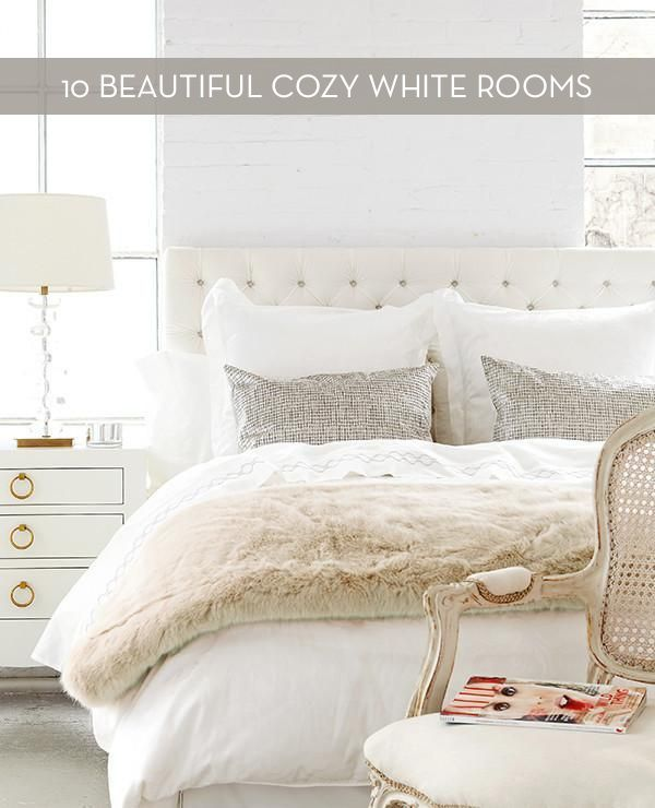 Eye Candy 10 Cozy Winter White Rooms