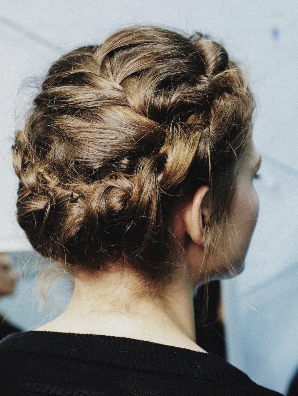 à la russe hairz pinterest updo messy braids and hair and beauty