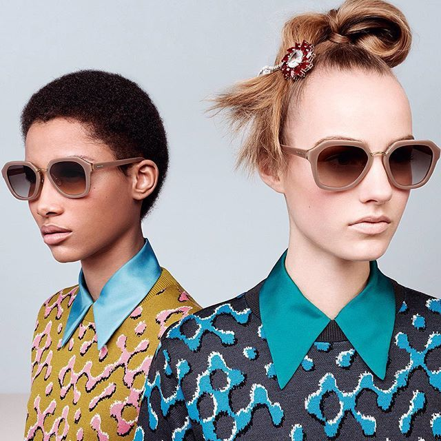 265ddc4feb1 Prada FW15 Eyewear Campaign.