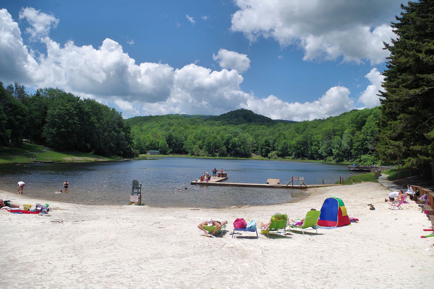 Wildcat Lake is located in Banner Elk, North Carolina. A ...