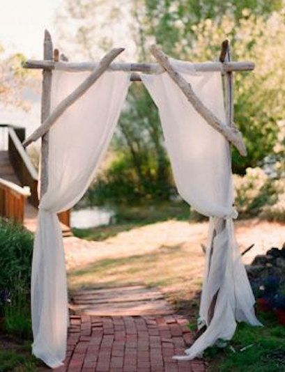 Driftwood Wedding Arch Kit By SaltyGirlandLongDog