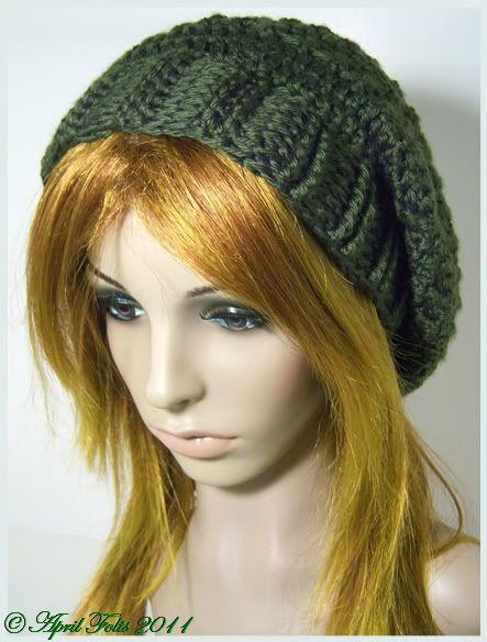 April Draven: Fallen Star Slouchy Hat Pattern | Things Jenna must ...