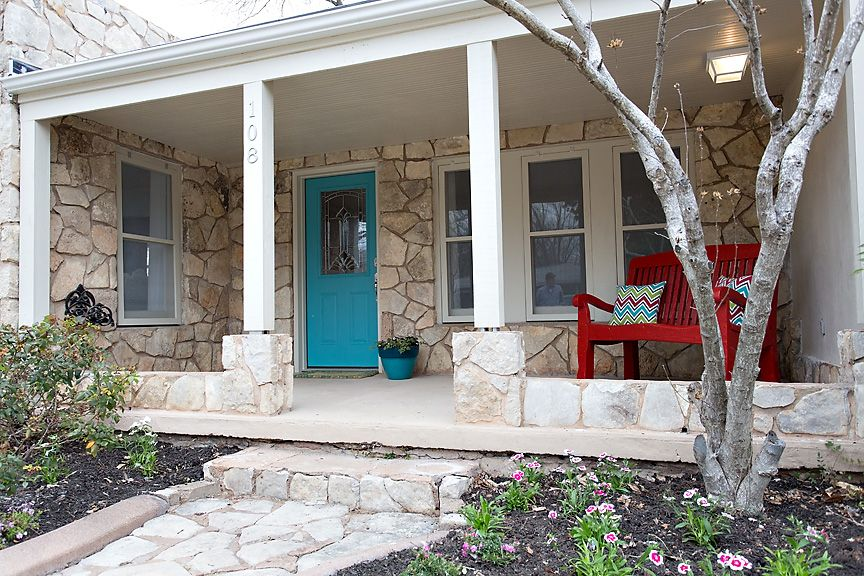 The Front Porch At The Aqua Door In Fredericksburg Texas Aqua Door Outdoor Space Hot Tub