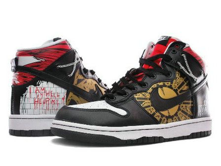 Nike Dunk High Hellraiser I Am In Hell Help Me
