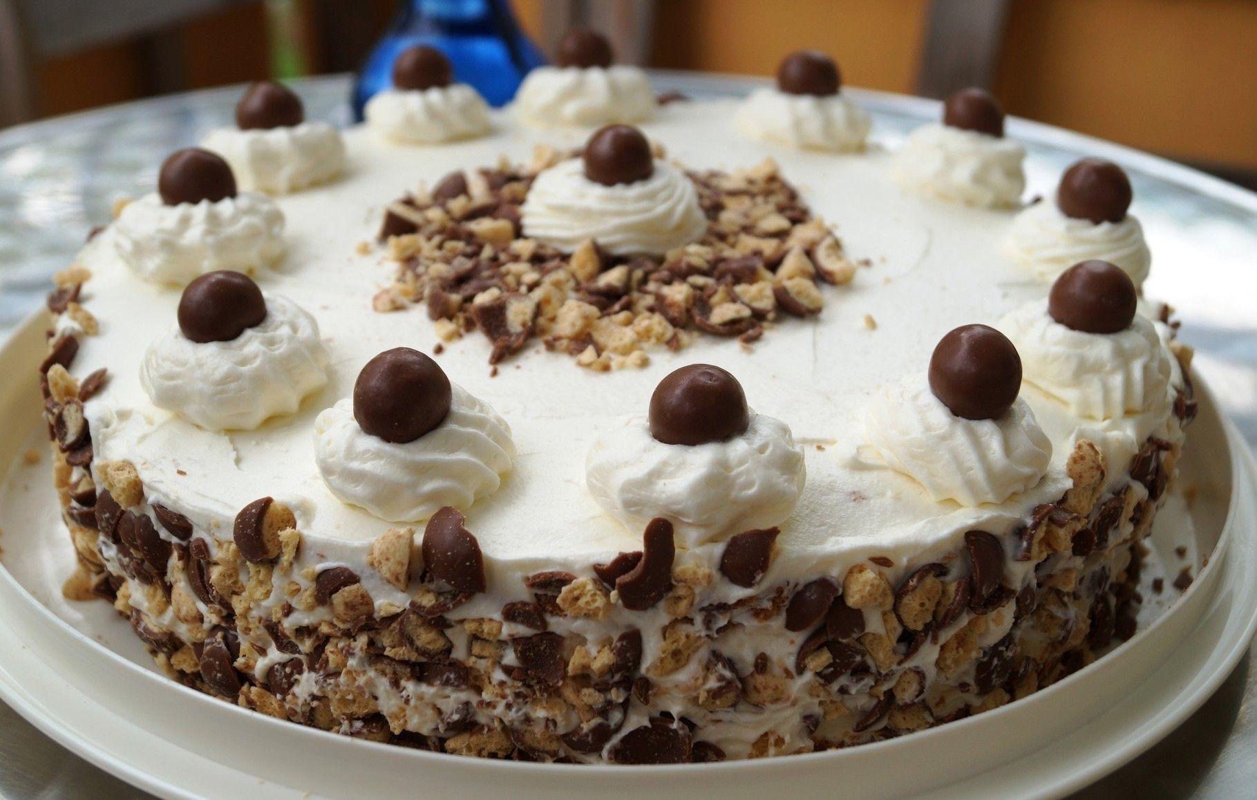 Malteser Torte So Delightful Pinterest Kuchen Das Auge