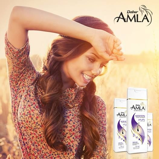How About A New Year Resolution Of Nourished Hair We Are Here To Help Start Using Dabur Amla Keratin Shampoo To Get The Hai Beauty Romantic Girl Hair Beauty