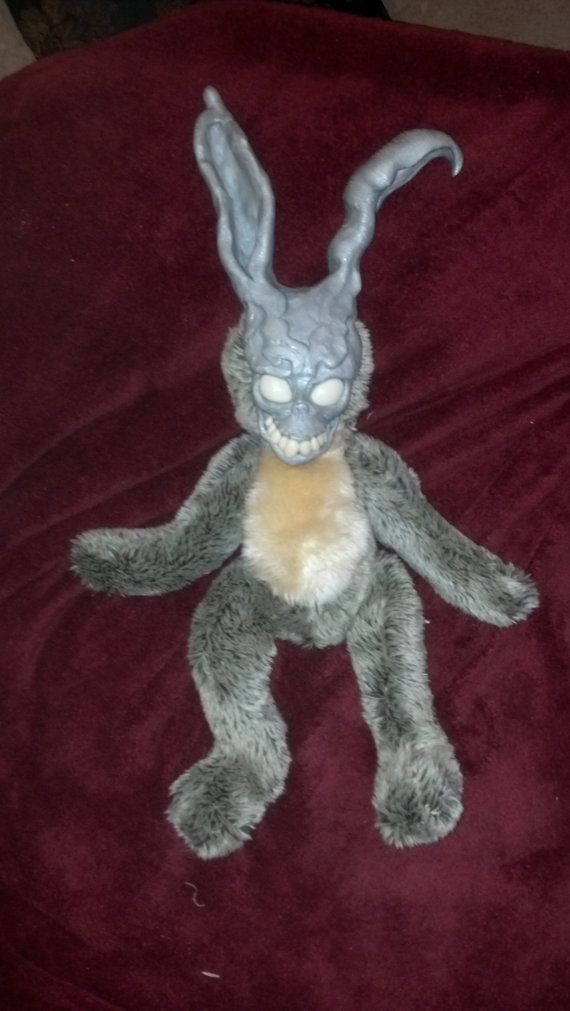 Donnie Darko Frank Rabbit OOAK Monster RESERVED by Panlora - resume rabbit