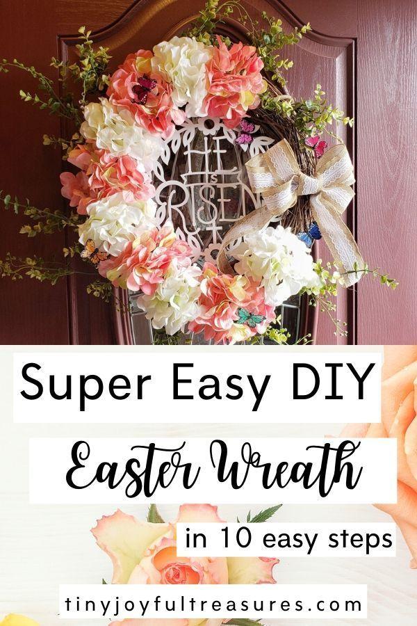 Photo of Easy DIY Easter Wreath Tutorial –