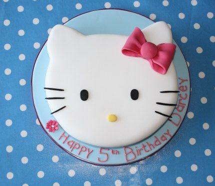 How to make a Hello Kitty cake blog tutorial birthdays