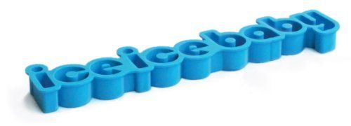 Suck UK Ice Ice Baby Ice Cube Tray by Suck UK. $17.79. Ice cubes spell out ice ice baby. Great for molding butter or candy. Measures 11 x 2.4 x 0.75-inches. Made from food-grade silicone. Soft, flexible silicone allows for easy, ice cube removal. Alright stop, collaborate and listen, Suck is back with a brand new invention... Okay okay we're twenty years late with this one, but you have to see if these things are going to blow over or not before you spend time ...
