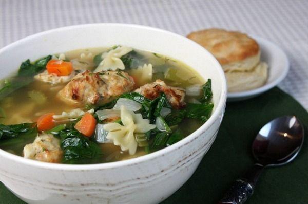 Ina Garten S Italian Wedding Soup Italian Wedding Soup Recipe Hearty Soup Recipes Italian Wedding Soup