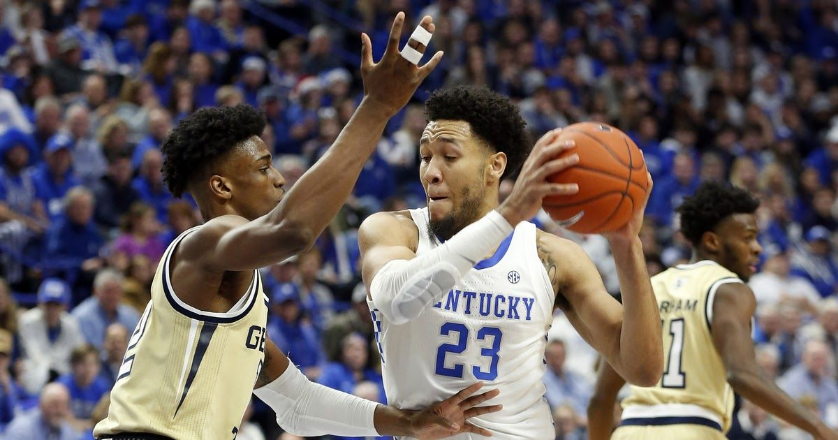 Hagans scores 21, leads No. 8 Kentucky past Tech