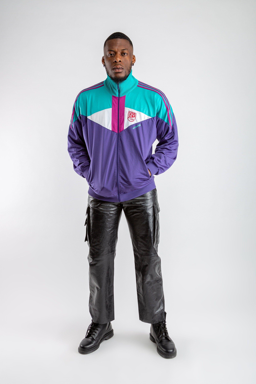 Vintage Adidas Track Jacket Purple Oversized Adidas Sports Jacket Streetwear Men S Sport Jacket Women S Adidas Sports Jacket Size L Sport Jacket Men Adidas Track Jacket Womens Long Sleeve Shirts