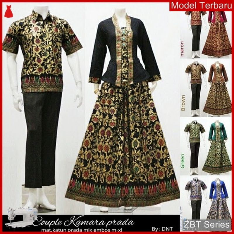 ZBT07709 Kebaya Batik Couple Sarimbit Kamara Modern BMGShop DAN PIN JUAL  Baju  Murah Online Model f8fc42edc7