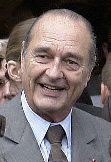 President Chirac (cropped) - Cinquième République (France) — Wikipédia