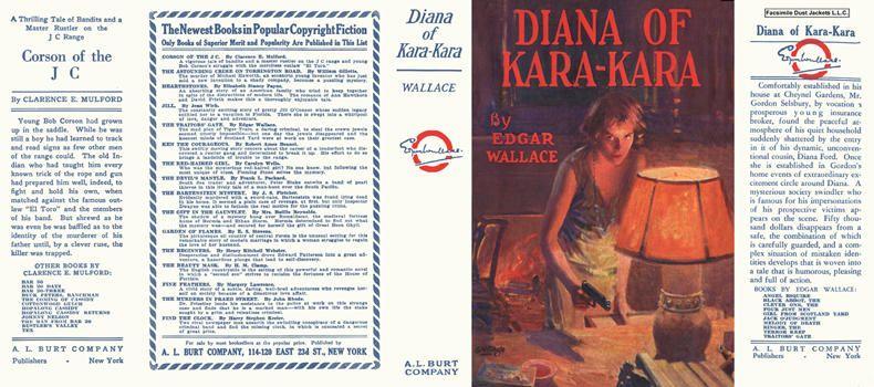 Diana of Kara-Kara. Edgar Wallace.