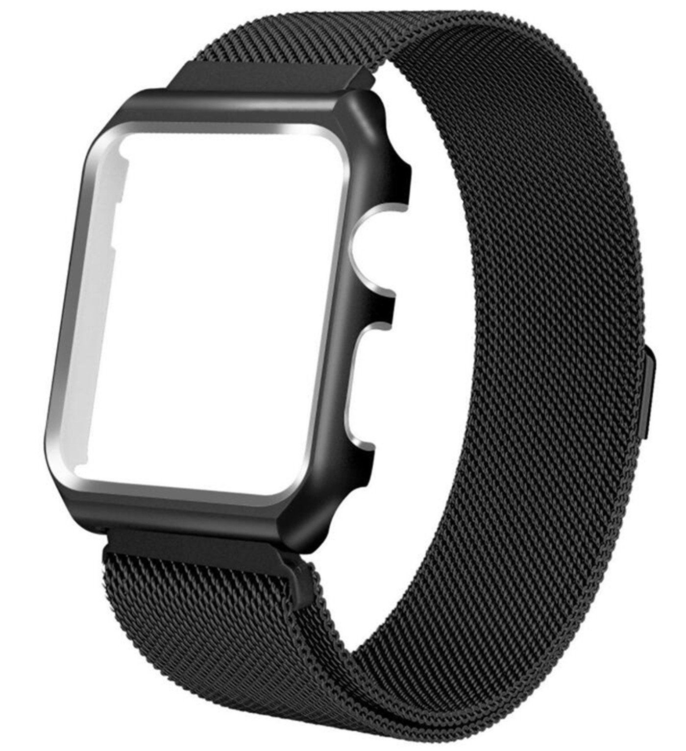 For Apple Watch Band 38MM Mesh Milanese Loop Stainless