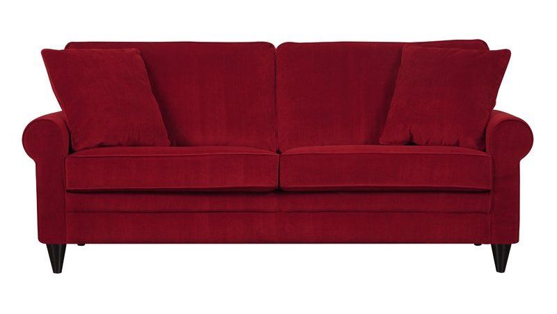 12 Fabulous Red Sofas For Your Living Room Red Sofa Red Couch
