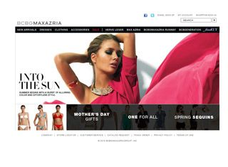 Credit Smashing Magazine for submitting this cool fashion website ...