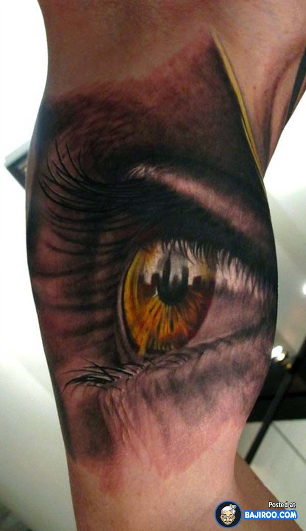 Amazing Awesome Cool Latest Stylish 3d Tattoos Design Ideas Pics