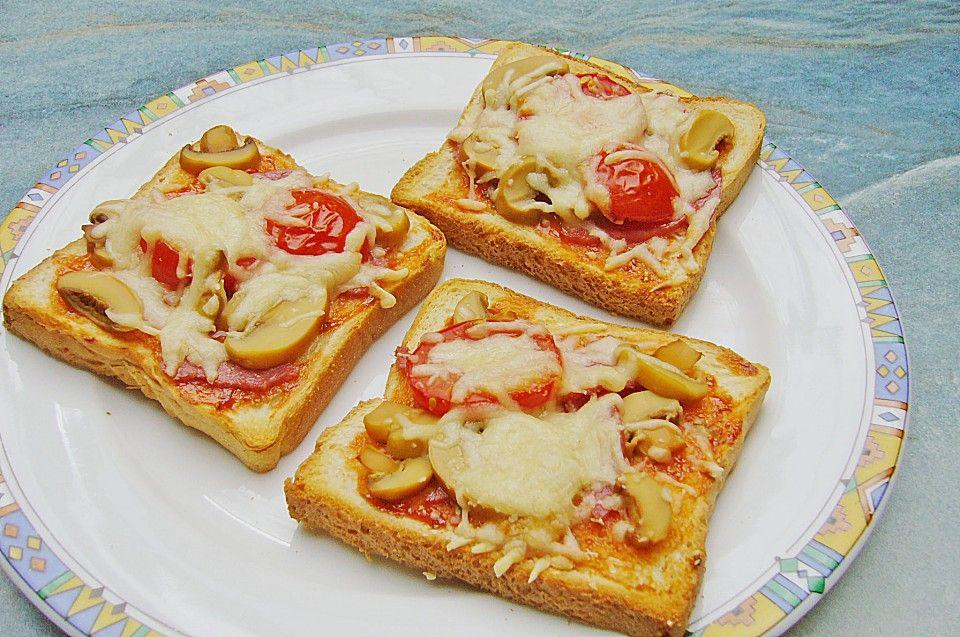Pizza - Toast, ein schmackhaftes Rezept aus der Kategorie Kinder. Bewertungen: 24. Durchschnitt: Ø 4,2.