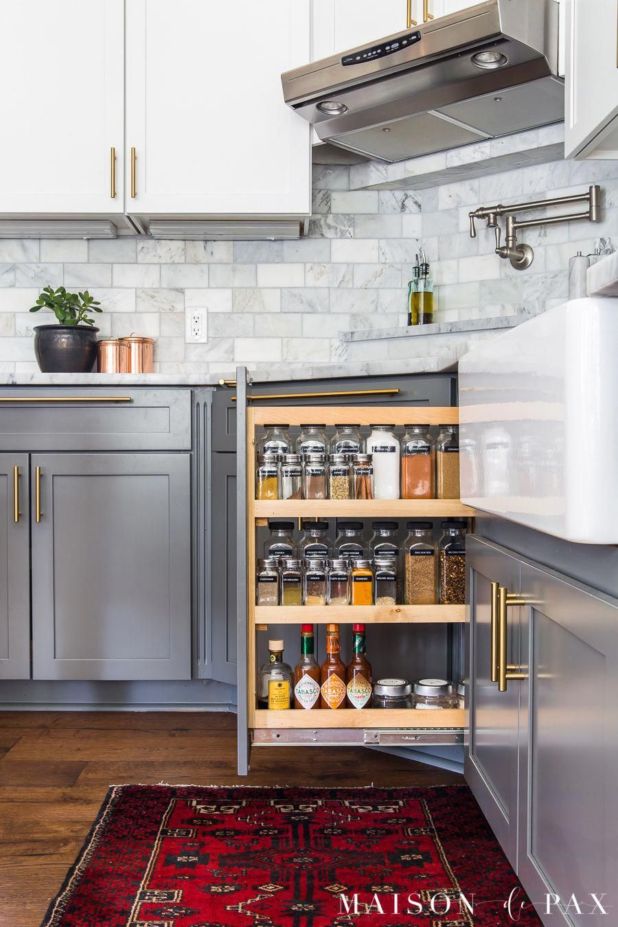 kitchen organization ideas spice cabinet organizing follow these 5 tips for a beautiful f on kitchen organization cabinet id=79161