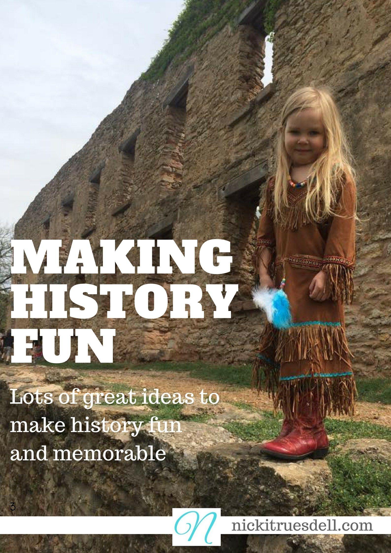 Making History Fun In Your Homeschool