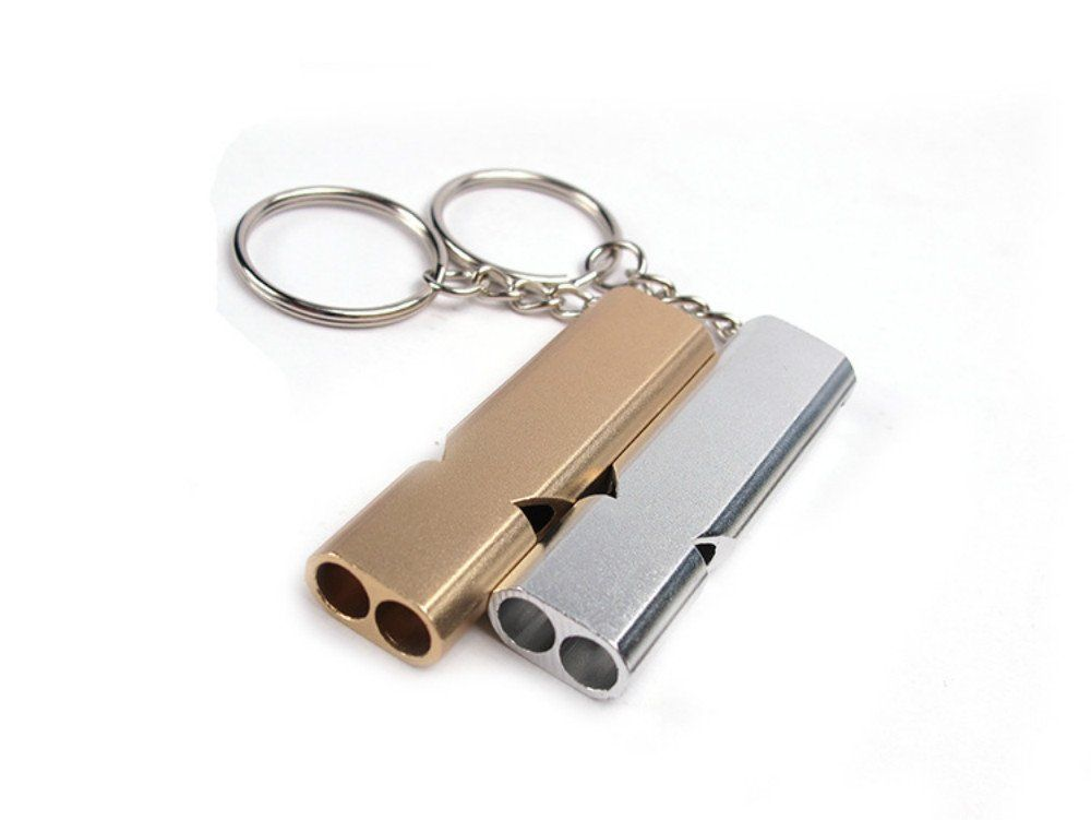 Aluminum Emergency Survival Whistle Outdoor Tool for Camping Hiking AL