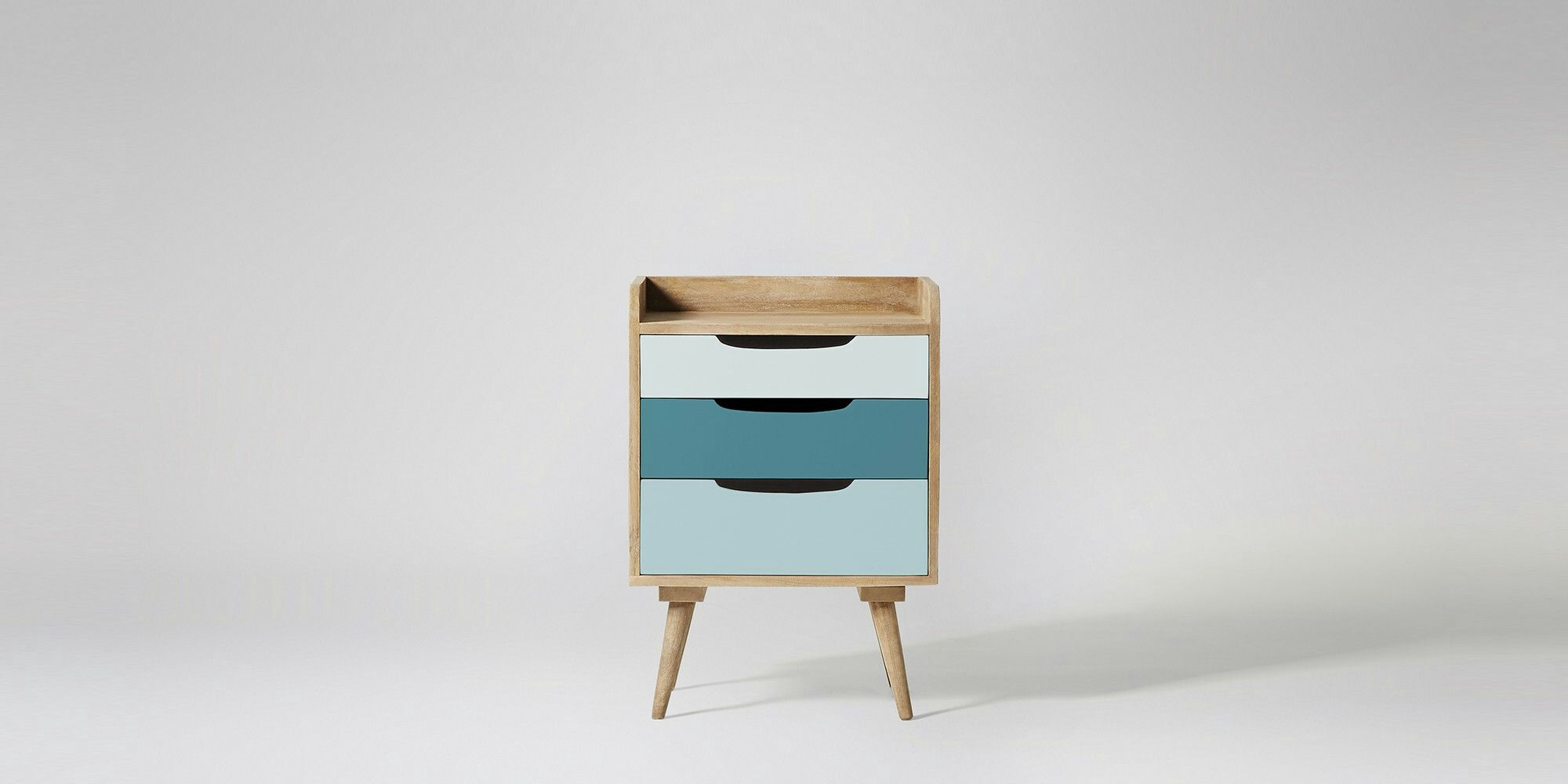 Best Swoon Bedside Table With Images Mid Century Bedside 400 x 300