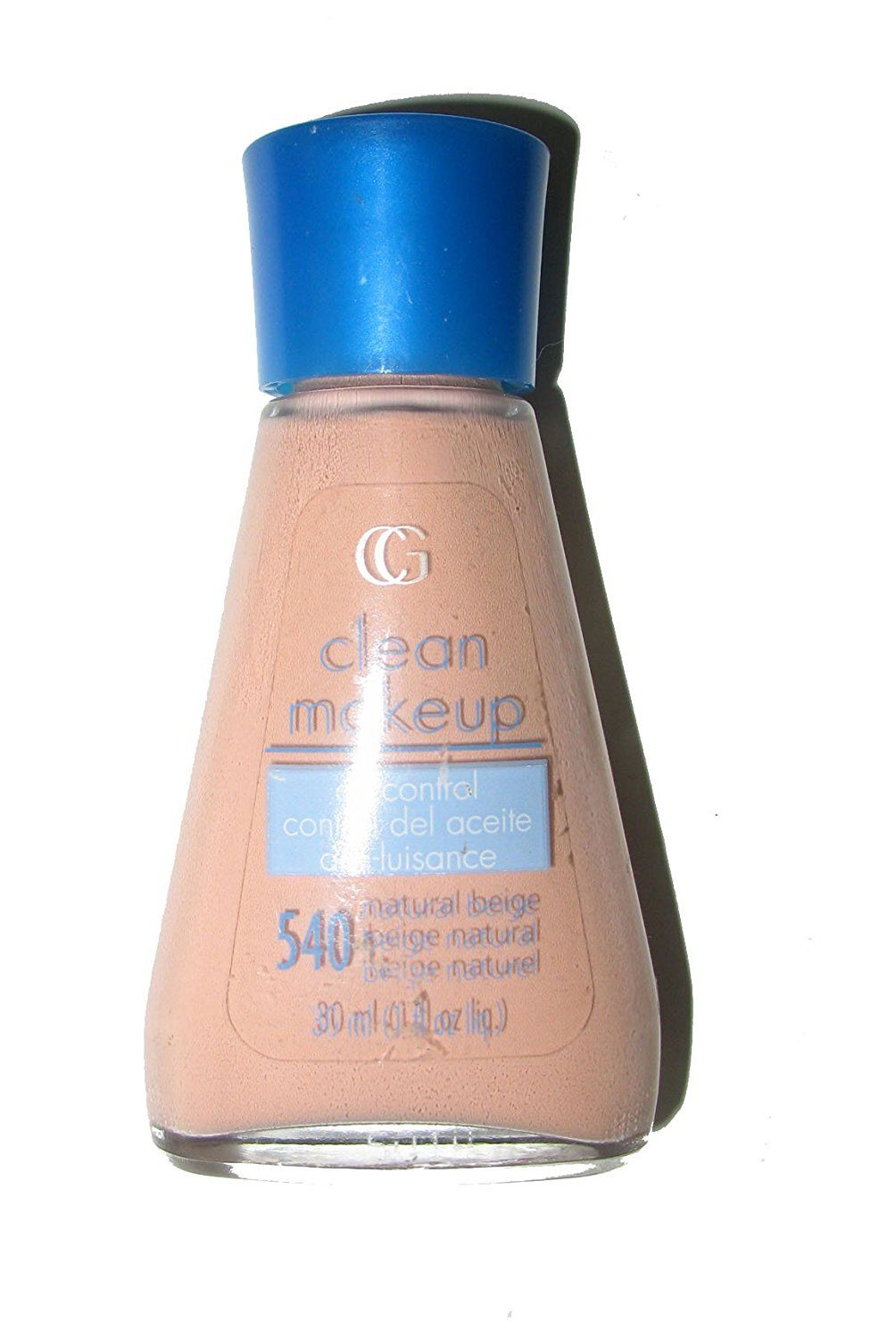 Covergirl clean makeup foundation 540 natural beige this