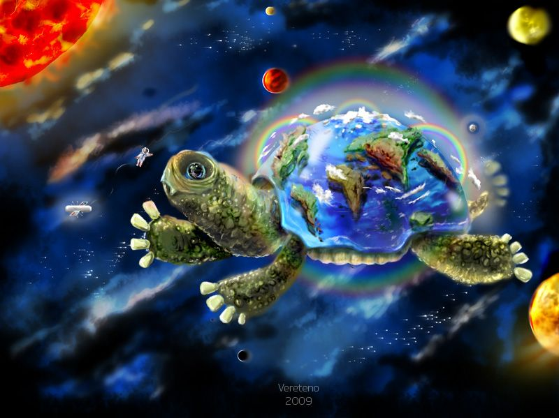Mother of all turtles by ~Vereteno on deviantART