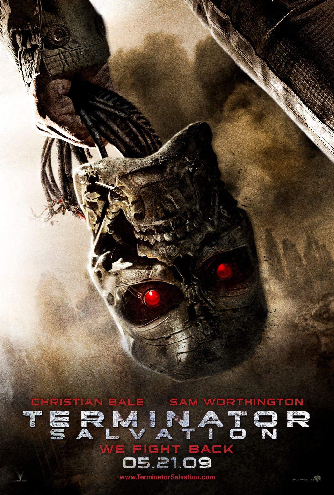 Terminator Salvation 2009 Terminator Movie Posters Terminator Movies