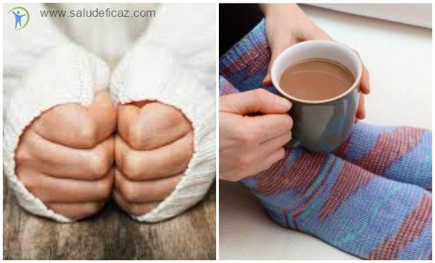 porque tengo las manos frias y los pies frios