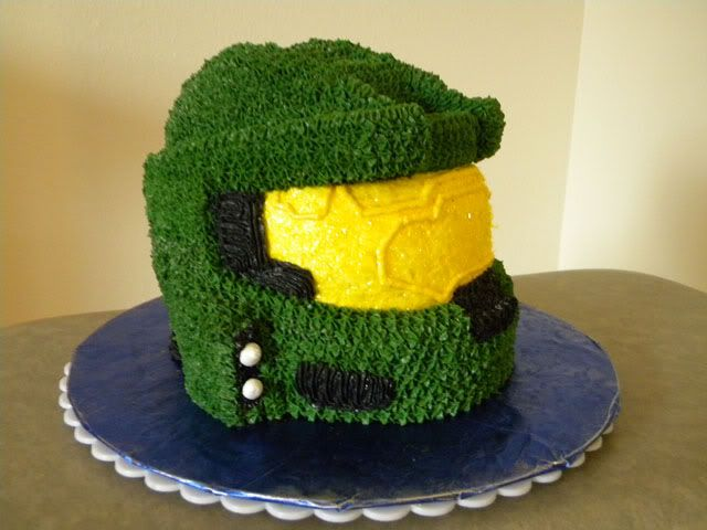 halo birthday cakes Pin Halo Master Chief Cake Ethan Pinterest