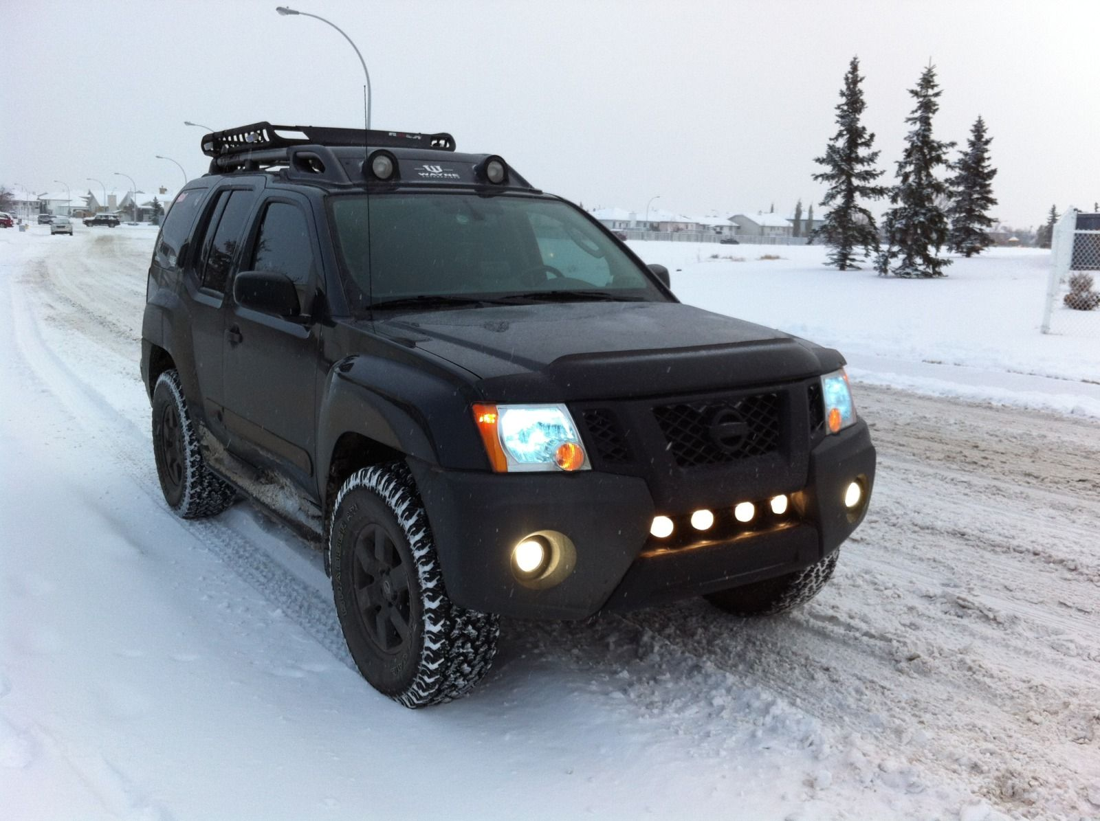 Photo thread xterra s in the snow page 4 second generation nissan xterra forums