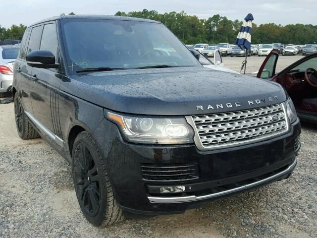 2014 Land Rover Range Rove 5 0l For Sale At Copart Auto Auction Bid Win Now Car Auctions Land Rover Suv