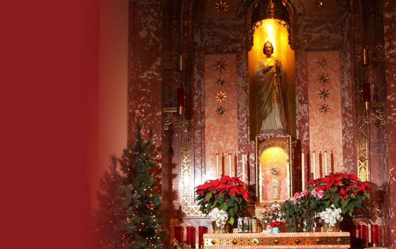 At the end of each year we celebrate the Christmas Novena