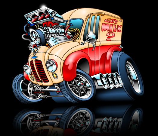 Fink Garage: Car And Truck Toons