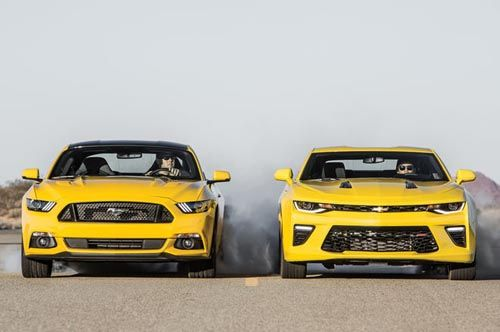 2016 Ford Mustang Gt Vs 2016 Chevrolet Camaro Ss You Again The