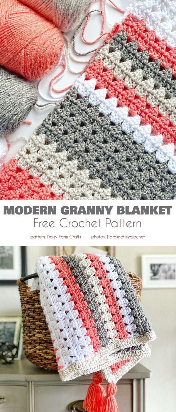 Modern Granny Blankets