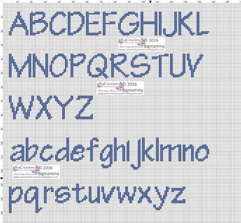 Alfabeto cucito pinterest nombres punto de cruz for Lettere a punto a croce